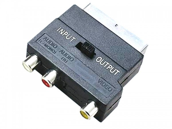 Adapter Scart-Chinch